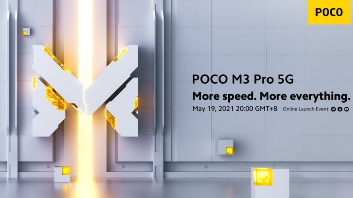 Poco M3 Pro 5G confirmed to launch on May 19, could arrive as rebadged Redmi Note 10 5G